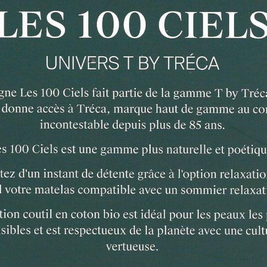 Gamme : Les 100 Ciels